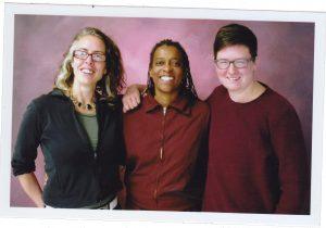 Layne, Emily, and Terri at SCI Muncy in December 2016